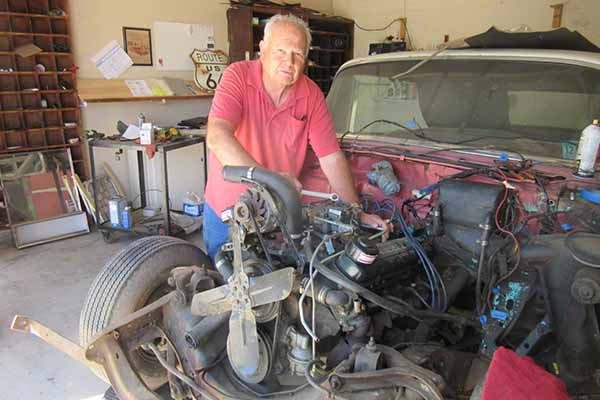 Photo of Jim Brandt On Restoring a Classic Car