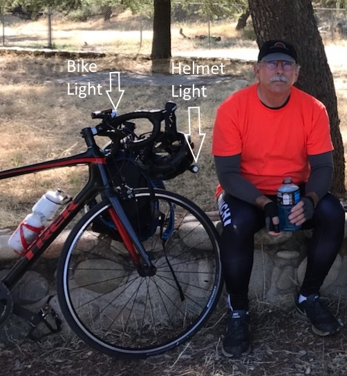 Jerry with his bike